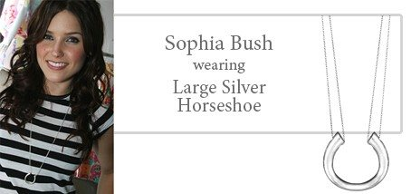Adina Jewelry,Small Horseshoe necklace