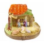 Nativity Scene - Christmas Crib Limoges Box