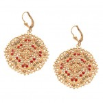 Swarovski  Crystal Filigree Earrings
