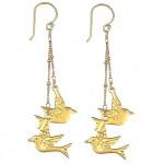 Lovebird Drop Earrings