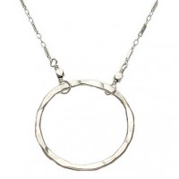 adina circle pendant