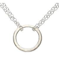 Adina Big Tiny Circle Necklace - Handmade Celebrity Jewelry - N006BGTNY-adina