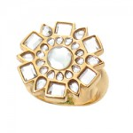 Mirror Polki Icon Ring